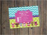 Beanie Boo Birthday Invitations Beanie Boo Birthday Invitation Girl Birthday Party