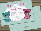 Beanie Boo Birthday Invitations Beanie Boo Glamour and Leona Birthday Party by