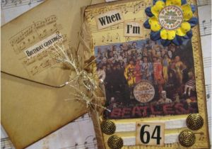 Beatles Birthday Card Musical Beatles Birthday Card when I 39 M 64 Sgt Pepper 39 S by Fabfouryou