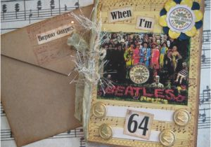 Beatles Birthday Card Musical Beatles Birthday Card when I 39 M 64 Sgt Pepper 39 S