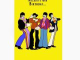 Beatles Birthday Card Musical Birthday Beatles Birthday Card Lovely Beatles Birthday