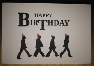 Beatles Birthday Card Musical Items Similar to the Beatles Birthday Card On Etsy