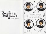 Beatles Birthday Card Musical the Beatles Birthday Cards Cardspark Party Invitations Ideas