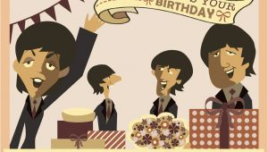 Beatles Happy Birthday Card Beatles Birthday Quotes Quotesgram