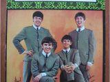 Beatles Happy Birthday Card Fab Oversized Beatles Birthday Card