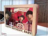Beatles Happy Birthday Card Linnica A 3d Beatles Birthday Card