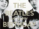Beatles Happy Birthday Card the Beatles Say Happy Birthday to You Poster Veena