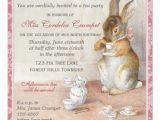 Beatrix Potter Birthday Invitations Beatrix Potter Custom Birthday Party Invitation 5 25
