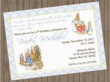 Beatrix Potter Birthday Invitations Beatrix Potter Peter Rabbit Invitations
