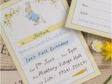 Beatrix Potter Birthday Invitations Pack Of 10 Beatrix Potter Peter Rabbit Invitations From 6