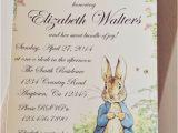 Beatrix Potter Birthday Invitations Peter Rabbit Beatrix Potter Baby Shower or Birthday Party