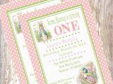 Beatrix Potter Birthday Invitations Peter Rabbit Birthday Invitations Beatrix Potter Bunny