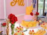 Beauty and the Beast Birthday Party Decorations Kara 39 S Party Ideas Beauty and the Beast Birthday Party