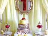Beauty and the Beast Birthday Party Decorations Kara 39 S Party Ideas Charming Beauty and the Beast 1st