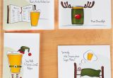 Beer Drinking Birthday Cards Holiday Greeting Cards Beer Set Of 8