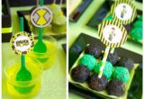Ben 10 Birthday Decorations Kara 39 S Party Ideas Ben 10 Alien themed Birthday Party