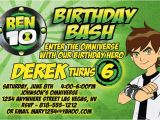Ben 10 Birthday Invitation Cards Templates 48 Best Images About Ben 10 Party On Pinterest Aliens