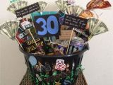 Best 30th Birthday Gift Ideas for Him 30th Birthday Basket for A Man Made This for My Husband