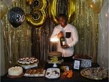 Best 30th Birthday Party Ideas for Him Black and Gold theme Dirtythirty Decorations Under 60