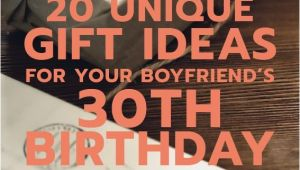 Best 30th Birthday Present for Boyfriend 20 Gift Ideas for Your Boyfriend 39 S 30th Birthday Gift