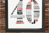 Best 40th Birthday Gift for Man Personalized 40th Birthday Gift for Him 40th by Blingprints