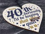 Best 40th Birthday Present for Man 40th Birthday Gift Best Friend Funny 40th Birthday Gift