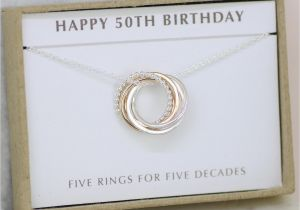 Best 50th Birthday Gifts For Her Gift Jewelry