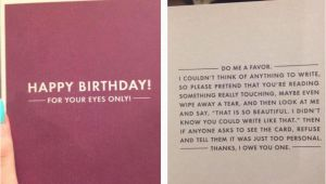 Best Birthday Card Ever Written This is the Perfect Birthday Card if You Have No Idea What