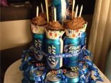 Best Birthday Gifts for Boyfriend 21st Beer Cake I Made for My Boyfriends 21st Birthday Gift