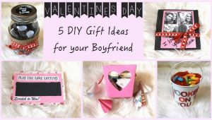 Best Birthday Gifts for Boyfriend Handmade 5 Diy Gift Ideas for Your Boyfriend Youtube