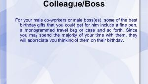 Best Birthday Gifts for Male Boss Best Birthday Gifts for Boss Male