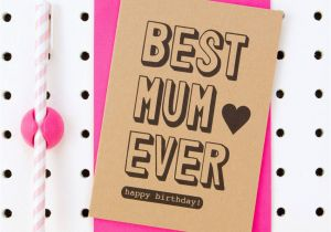Best Free E Birthday Cards Uk Mum Ever Happy 39 Card By