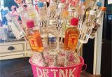 Best Gift for 21st Birthday Girl 21st Alcohol Bouquet I Made for My Best Friend Diy
