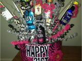 Best Gift for A Girl On Her 21st Birthday 21st Birthday Gift Basket Shots Shots Shots Perfect