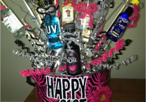 Best Gift For A Girl On Her 21st Birthday Basket Shots