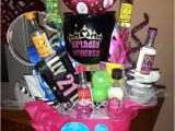 Best Gift for A Girl On Her 21st Birthday 21st Birthday Gift for Mir Basket Bucket with Margarita