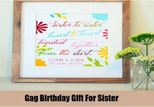 Best Gift For A Sister On Her Birthday Ideas Unique