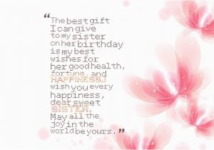 Best Gift For A Sister On Her Birthday Wishes Sisters Page 16 Nicewishes Com