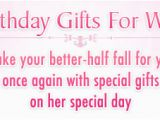 Best Gift for My Wife On Her Birthday top 10 Birthday Gifts for Your Wife Birthday Gifts for
