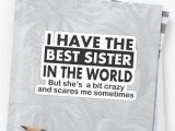 Best Gift for Sister On Her Birthday Quot Fun Little Sister Gifts Perfect Little Sister Birthday