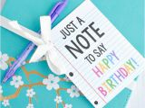 Best Gift for Teacher On Her Birthday Cute Creative Quot Note Quot Gift Idea for Birthdays or Teacher