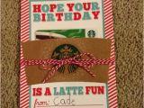 Best Gift for Teacher On Her Birthday Teacher Birthday Gift Gift Card to Starbucks for Her