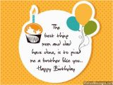 Best Happy Birthday Wishes Quotes for Brother Birthday Wishes for Brother Quotes and Messages