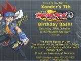 Beyblade Birthday Invitation Template Beyblade Birthday Card Printable Draestant Info
