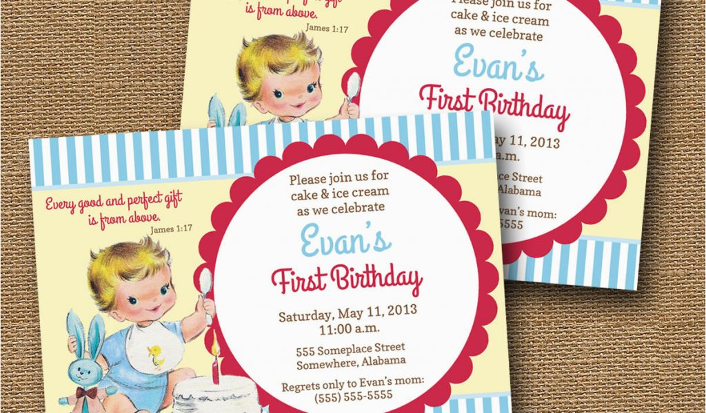 Bible Verse For 1st Birthday Invitations Baby 39 S First Birthday