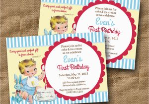 Bible Verse For 1st Birthday Invitations Baby 39 S First Invitation Diy By Bunglehousedesigns