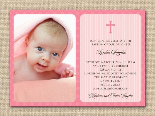 Bible Verse For 1st Birthday Invitations Baptism Wording