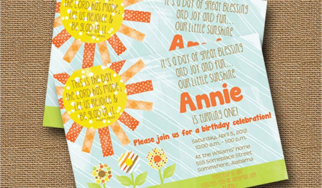 Download By SizeHandphone Tablet Desktop Original Size Back To Bible Verse For 1st Birthday Invitations