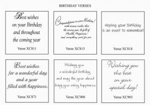 Bible Verse For Husband Birthday Card Sentiments Verses