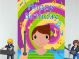 Big Birthday Cards In Stores Musician Boy Large Birthday Card Colour their Day